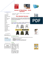 Physiology of the Skeletal Sys