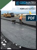 Folleto Fortgrid Asphalt
