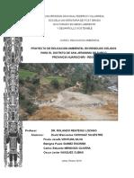 PROYECTO DE EDUCACION AMBIENTAL EN RESIDUOS SÓLIDOS PARA EL DISTRITO DE SAN JERONIMO DE SURCO PROVINCIA HUAROCHIRI - REGION LIMA.doc