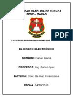 Ensayo Dinero Electrónico.docx
