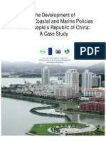 The Development of National Coastal and Marine Policies in the People's Republic of China