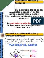 II Estructura Atómica