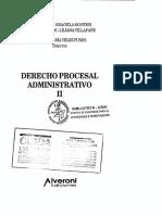 Manual Derecho Procesal Administrativo - Ignacio Maria Velez Funes