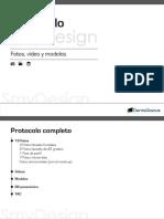 Protocolo de Registro Fotografico Smydesign
