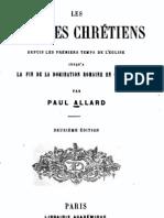 Les esclaves chrétiens