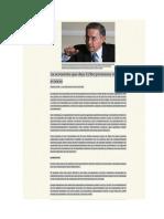 La Economia Que Deja Uribe - Promess vs Avances