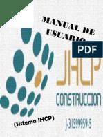 Manual de Usuario (SISTEMA JHCP)