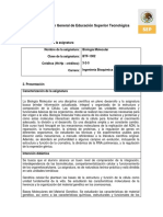 Btf-1302 Biología Molecular