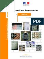 Les matériaux de construction france 2003