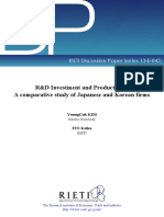 A Comparative Study of Japanese and Korean Firms