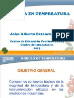 Presentacion Temperatura 2013