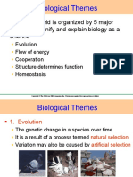 Biological Themes and Theories