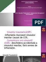 """Sinusita """"Perforativă"""". Tratamentul Chirurgical Al Comunicărilor"""