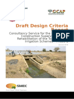 Draft Design Criteria Report (Tono & Vea)