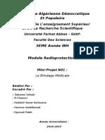 Mini Projet Radioprotection