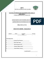 Practica Circuito Serie-Paralelo