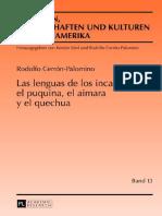 1Las Lenguas de Los Incas