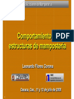 COMPORTAMIENTO MAMPOSTERIA