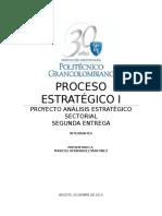 Proceso Estratégico I Segunda Entrega