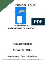 3.2 an Lisis Del Agua