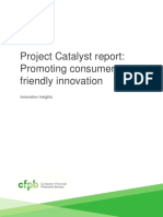 102016 Cfpb Project Catalyst Report