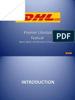 DHL-Premier Lifestyle Festival Headline Sponsor Package 2013 Final