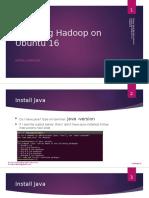 Hadoopのをインストールする簡単な方法