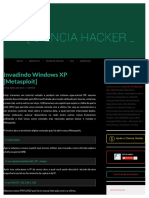 Invadindo Windows XP [Metasploit]