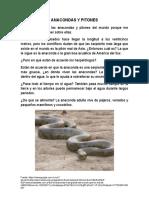 Anacondas y Pitones