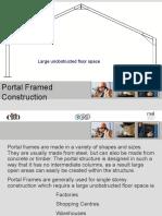 Portal Framed Construction