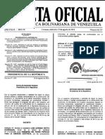 Fondo Negro Primero Gaceta Oficial Nº 40.727 19-08-2015