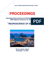 "Program and Proceedings - 10th International Neuroscience and Biological Psychiatry ISBS Regional (S. America) Conference ""NEUROSCIENCE OF STRESS"", Dec 1-3, 2016, Rio de Janeiro, Brazil"