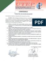Carta de Compromiso de PPK Con El SUTEP