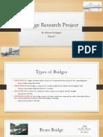 bridge research project
