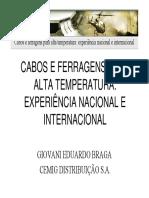 Cabos e Ferragens Para Alta Temperatura - Colóquio CEPEL SugThadeu