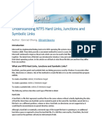 NTFS Hard Links Junctions and Symbolic Links
