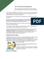 ORGANIZACIÓN+DE+LA+INFANCIA+Y+ADOLECENCIA+MISIONERA