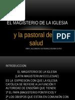 4magisteriodelaiglesiaylapastoraldelasalud-131009215906-phpapp02.pptx
