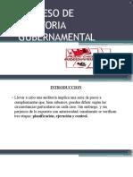 Proceso de Auditoria Gubernamental Diapositivas
