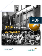 Cash Converters International at Microequities 2010 Rising Stars Microcap Conference