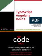 Typescript Angular2 Ionic2 160325171710
