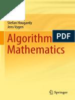 Algorithmic Mathematics (Hougardy, Stefan, Vygen, Jens)