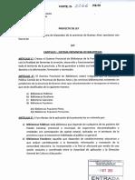 Ley Pcial Bibliotecas 2013