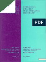 Interaccion Didactica en la Enseñanza Secundaria