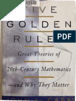Five Golden Rules - Great Theories of 20th Century Mathematics - Casti