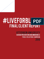 Client Report #LiveForBlank