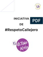 Iniciativa de #RespetoCallejero