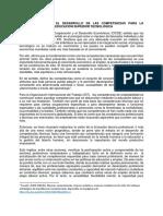 Propuestas de Competencia Para La Empleabilidad