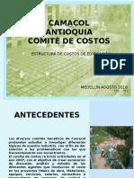 Presentación Estudio Estructura de Costos de Edificacion Agosto 2010