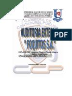 Auditoria Externa Foquitos S.a LIZETH Completo